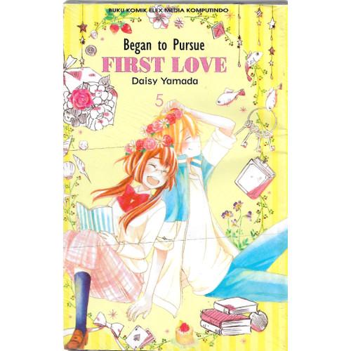 Foto Produk BEGAN TO PURSUE FIRST LOVE 1-5 -UR dari Toko Buku Uranus