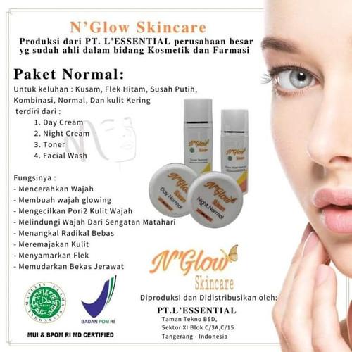 Foto Produk N Glow Skincare N'Glow BPOM - PAKET NORMAL dari Toko Qianzi