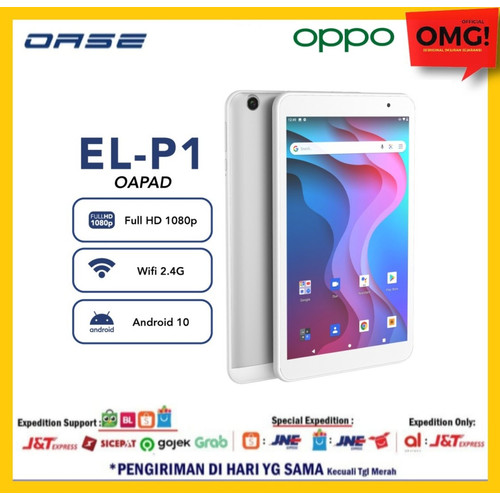 Foto Produk OPPO OASE OAPAD Tablet Android 10.0 2GB/32GB 4000mah GARANSI RESMI dari OMG!official