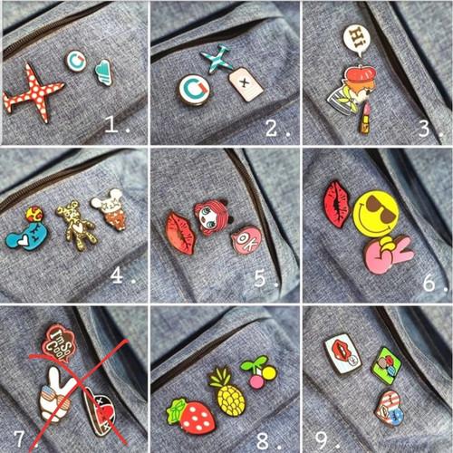 Foto Produk Bros Pin Karakter Kartun Baju Tas dari Xuping Jewelry Official