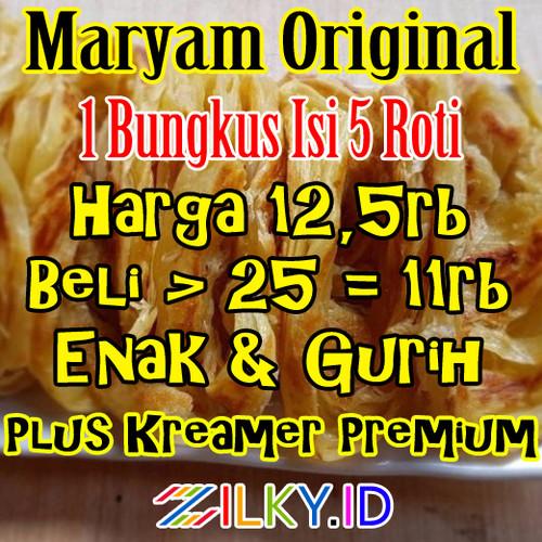 Foto Produk Roti Maryam Frozen Cane Canai Mariam Kenyang Prata Beku Bukan Syabab dari Zilky Indonesia
