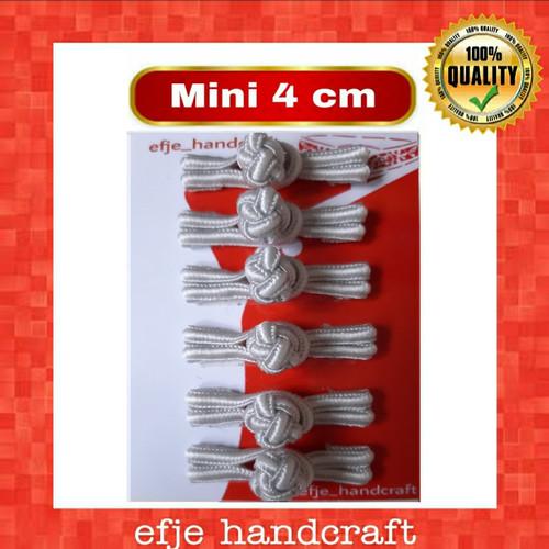 Foto Produk MINI Kancing Cheongsam / Shanghai EFJE -K001mini LIGHT GREY dari efje_handcraft