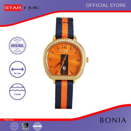 Foto Produk Bonia B10129-2575S Jam Tangan Wanita Nylon Blue Orange Blue dari Startime Official