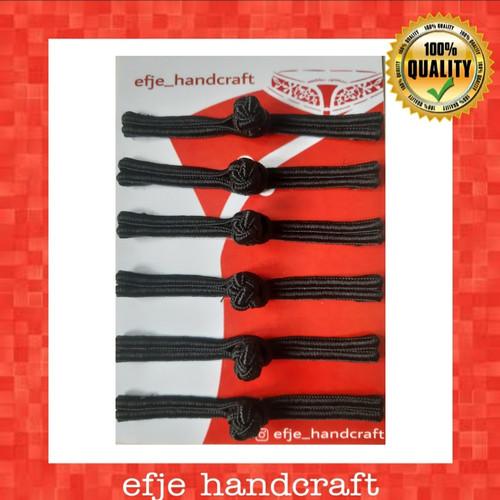 Foto Produk Kancing Cheongsam/Shanghai EFJE - K001 HITAM dari efje_handcraft