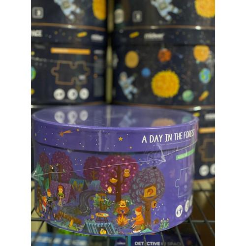 Foto Produk Mideer puzzle mainan edukasi anak wandering through the space - Day in Forest dari Mybentoshop