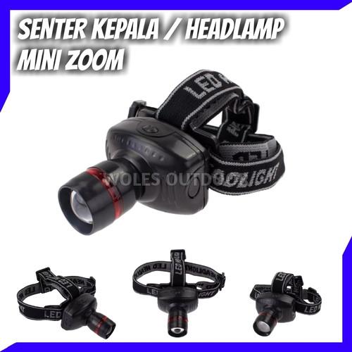 Foto Produk HeadLamp / Senter Kepala Power Zoom dari Woles Outdoor Store