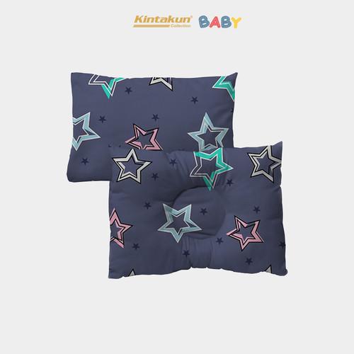 Foto Produk Kintakun Set Bantal + Bantal Anti Peyang Bayi Luxury - Shooting Star dari Kintakun Sprei Bedcover