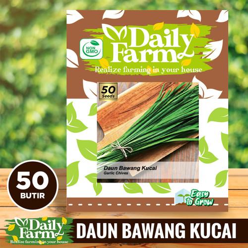 Foto Produk Daily Farm - Benih Bibit Daun Bawang Kucai ( Garlic Chives ) dari Damai-Shop
