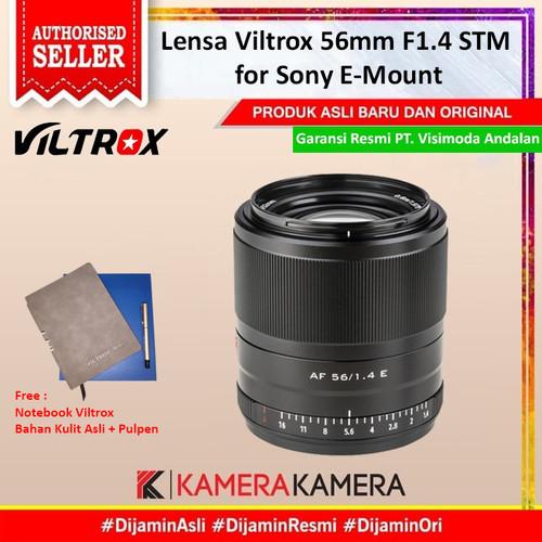 Foto Produk Lensa Viltrox 56mm F1.4 STM for Sony E-Mount dari kamerakamera