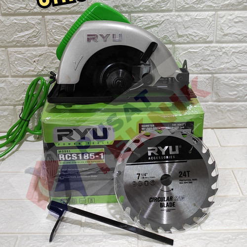 "Foto Produk MESIN CIRCULAR SAW RYU RCS 185-1 - MESIN CIRCLE RYU 7"" - RYU RCS 185-1 dari PUSAT TEKNIK TOKO"