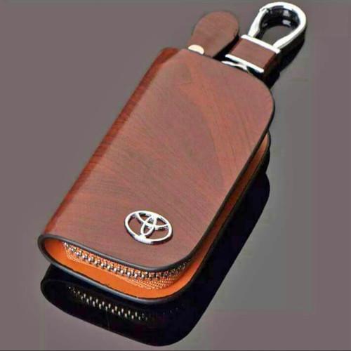Foto Produk Dompet STNK kulit import - dompet STNK mobil Toyota dari Raihan76 shop