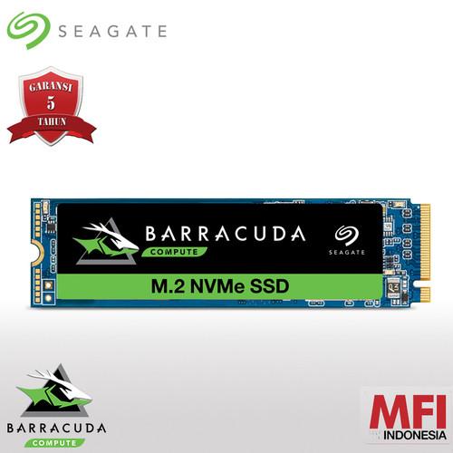 Foto Produk Seagate BarraCuda 510 SSD 500GB M.2 2280 NVMe dari Seagate Official Store