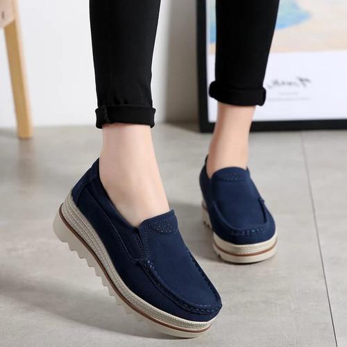 Foto Produk sepatu wedges wanita sw013 birdong dari pw_shop88