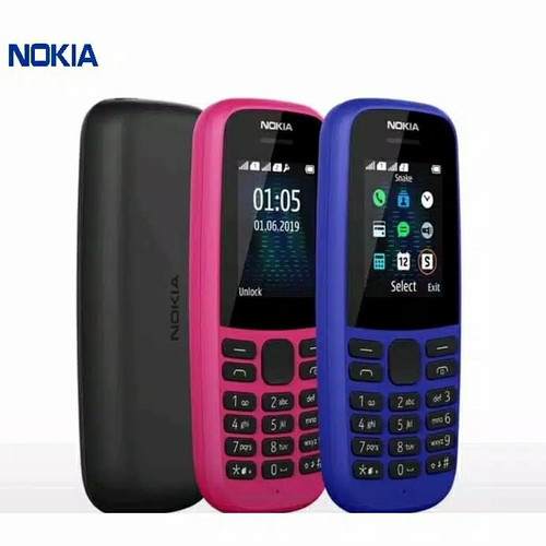 Foto Produk Nokia 105 (2019) Garansi Resmi TAM dari Juara Maju Shop