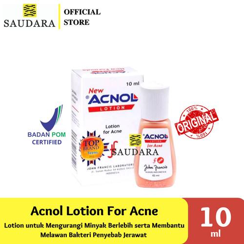 Foto Produk Acnol Lotion (10 Ml) , Acnol Gel For Acne (10 Gr) - Obat Jerawat - Acnol Lotion dari Saudara Official Store