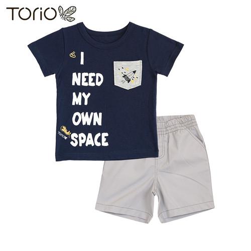 Foto Produk TORIO BASIC Baju Anak Laki-Laki-Pakaian Anak Laki-Laki Setelan My Own - 4-5 tahun dari Torio