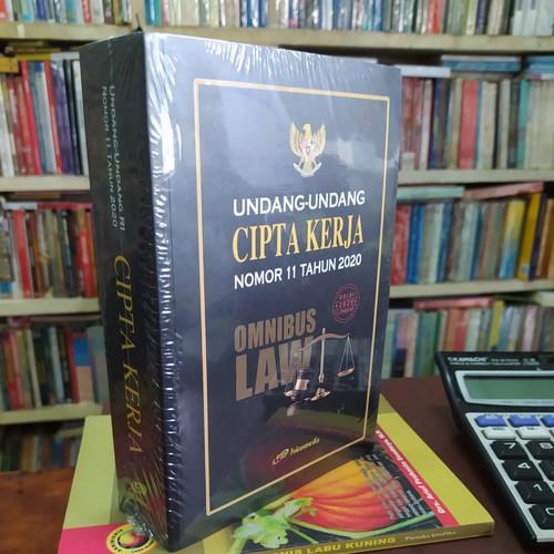 Foto Produk UNDANG UNDANG CIPTA KERJA OMNIBUS LAW - UU RI NOMOR 11 TAHUN 2020 dari Amanahbook