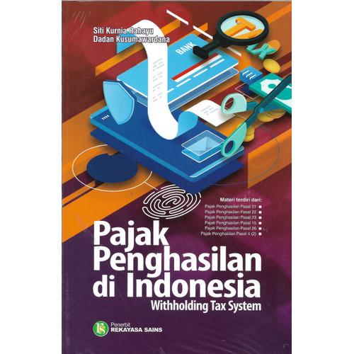 Foto Produk PAJAK PENGHASILAN DI INDONESIA WITHHOLDING TAX SYSTEM-RKS -UR dari Toko Buku Uranus