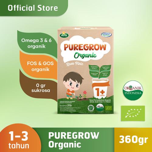 Foto Produk PUREGROW Organic - Susu Formula Organik 1-3 Tahun 360gr Boy dari PUREGROW Organic House