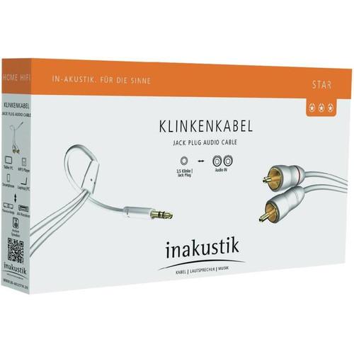 Foto Produk kabel audio aux inakustik germany mini to rca star series 1.5mtr dari Cartens Store