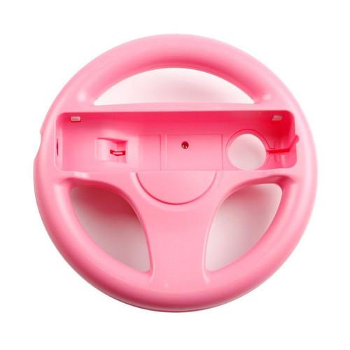 Foto Produk Nintendo Wii Steering Wheel White (Wii Remote Controller not included) - Merah Muda dari Waroengame