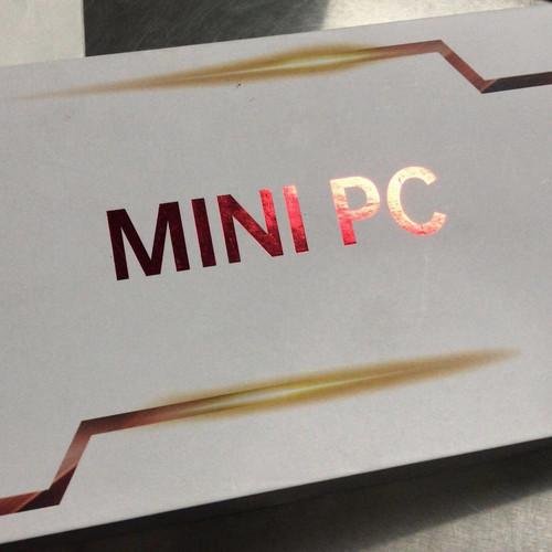 Foto Produk Mini PC AMD Ryzen 5 RAM 3500 U / 3550 H 8GB SSD 128GB Windows 10 - model B, 8GB/256 dari Koreanholicshop