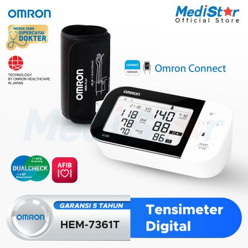 Foto Produk OMRON Tensimeter BPM HEM-7361T (With Bluetooth) dari MediStar