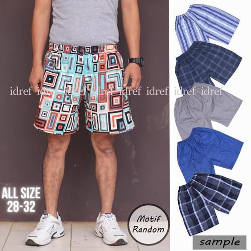 Foto Produk Celana Pendek Santai Dewasa Pria Obral Seru Terlaris - L dari idref fashion