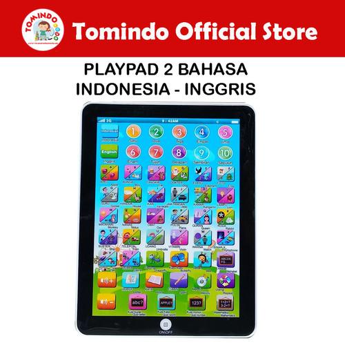 Foto Produk Tomindo Mainan Edukasi Anak Ipad Playpad 2 Bahasa Maenan Edukatif Anak dari TOMINDO