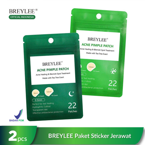 Foto Produk [BPOM] BREYLEE Pimple Patch, Paket Stiker Jerawat Pagi dan Malam - Day (Pagi) dari beauty entity