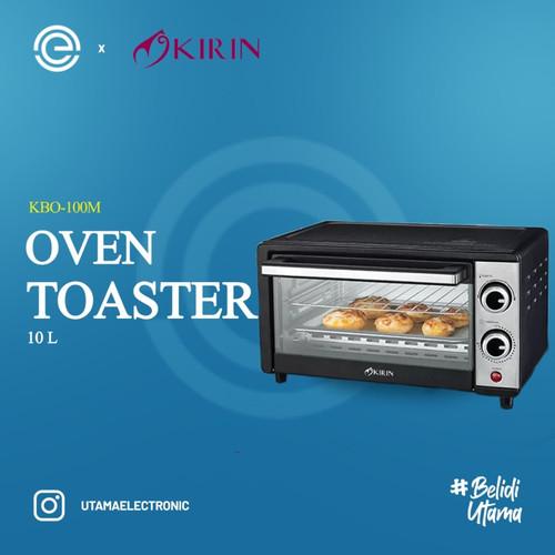 Foto Produk KIRIN Oven Toaster 10 Liter - KBO-100M - Hitam dari UTAMA_ELECTRONIC
