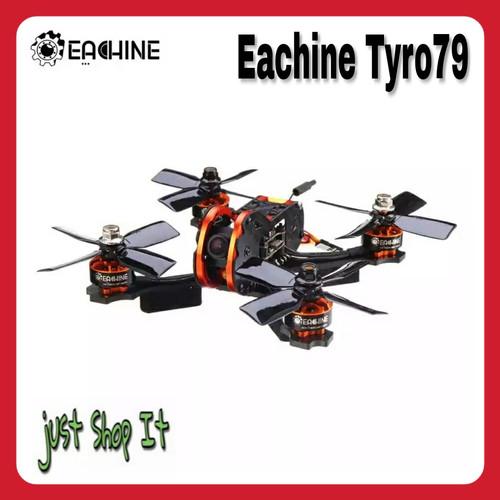 Foto Produk Eachine Tyro79 140mm DIY FPV RC Racing Drone F4 OSD 20A ARF - Tyro79 dari justShopIt