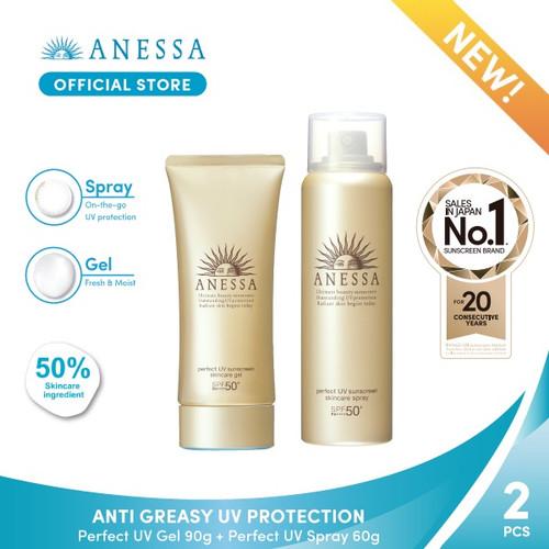 Foto Produk BUNDLING PROMO ANESSA ANTI GREASY UV PROTECTION dari Anessa Official Store