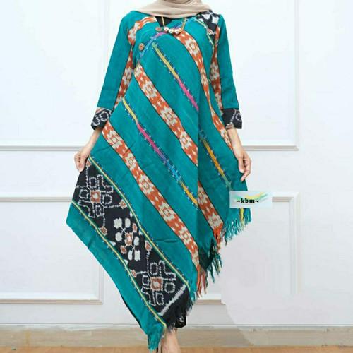 Foto Produk fashion muslim tunik tenun troso ori size M L XL XXL dari Batik Sri