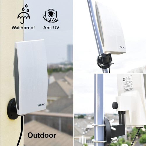 Foto Produk Antena TV Digital Analog PX DA-5200 Kabel 12M Booster Indoor-Outdoor dari Sukarno elektronik