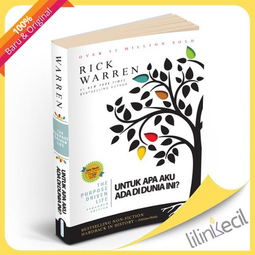 Foto Produk The Purpose Driven Life - Edisi Revisi (Rick Warren) dari lilinkecil