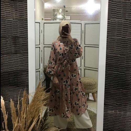 Foto Produk Tunik BUSUI Fashion Wanita Muslim Terbaru Termurah | Aufaa Tunic dari Covering Story
