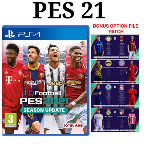 Foto Produk [PS4] PES 21 - PES21 - PES 2021 - PES 21 dari Super-Gameshop