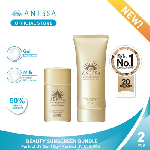 Foto Produk Anessa - Beauty Sunscreen Bundle dari Anessa Official Store