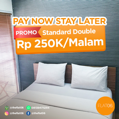 Foto Produk Voucher FLAT06 cipete Pay Now, Stay Later - Standard Room, Room Only dari FLAT06