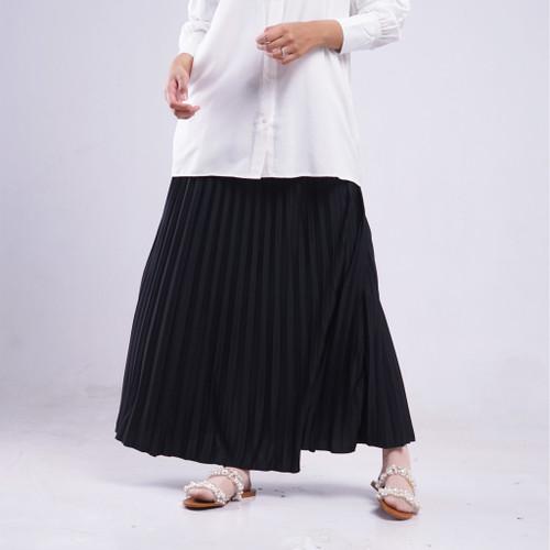 Foto Produk Jana Pleats Skirt - Hitam dari Luma Dawa