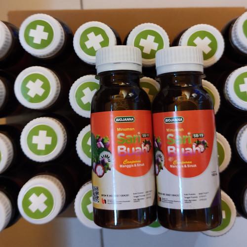 Foto Produk Minuman Sari Buah Probiotik Nutrisi Campuran Manggis dan Sirsak - Sb19 Plus(+) dari Hifza Mart
