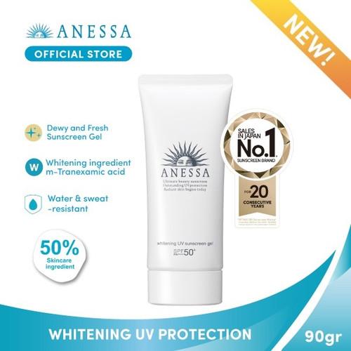 Foto Produk ANESSA WHITENING UV SUNSCREEN GEL SPF 50+ PA++++ 90gr dari Anessa Official Store