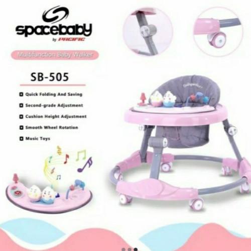 Foto Produk Baby Walker Spacebaby SB 505 Alat Bantu Jalan dari RCG Baby Shop