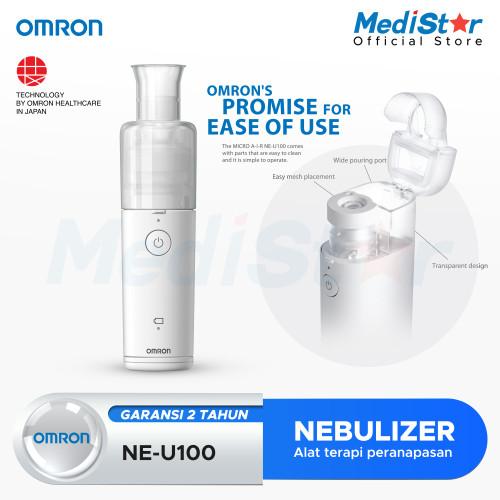 Foto Produk OMRON Mesh Nebulizer NE-U100 dari MediStar