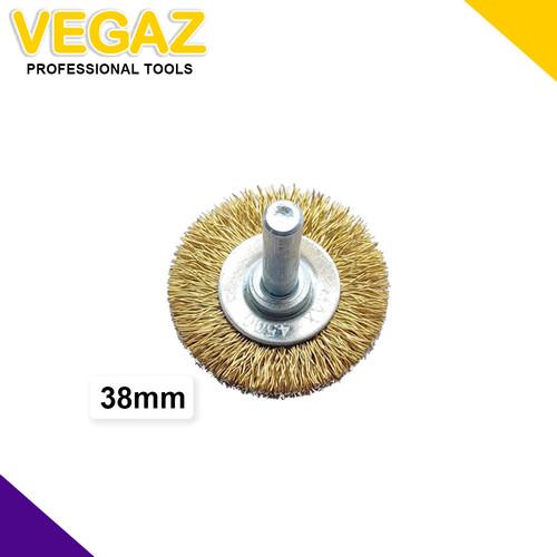 Foto Produk VEGAZ - Mata Bor Sikat Kawat Kipas Baja Mata Tuner Sikat Kawat Kipas dari Vegaz-Tools