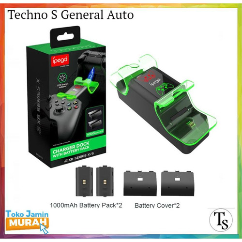 Foto Produk Ipega Charger Dock With Battery Pack Xbox Series S / X - PG XBX003 dari Techno S General Auto - TSGA