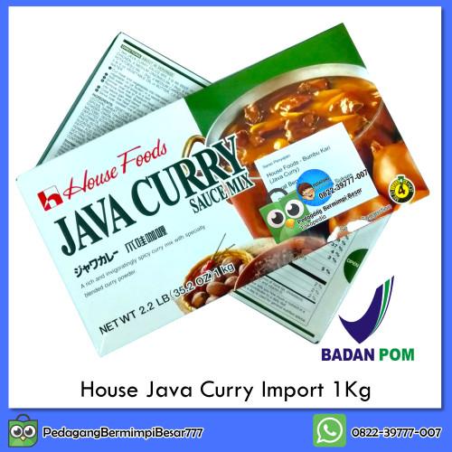 Foto Produk House Java Curry 1Kg   Saus Kari   Kari Blok Jepang dari PedagangBermimpiBesar777