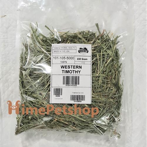 Foto Produk Oxbow Western Timothy 150gr Rumput Kelinci Marmut Chinchilla Hamster - EXP 2022-10 dari Hime petshop