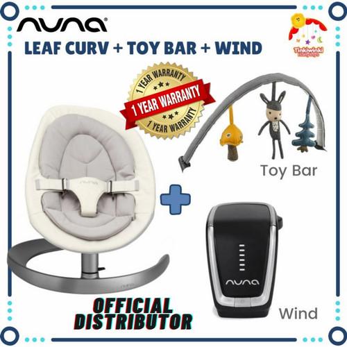 Foto Produk Nuna Leaf Curv include Toybar and Wind dari Tinkiwinki Babytoys